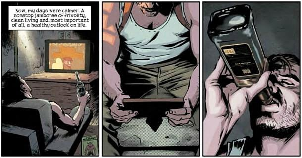 По совету одного человека, я почитал комиксы Marvel по Max Payne 3. Получилось очень канонично. В стиле Max Payne 1- ... - Изображение 1