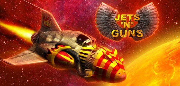 Решил поиграть в  Jets'n'Guns, я же самый умный - поставил хард. Уже 2 часа не могу пройти 3 уровень. - Изображение 1