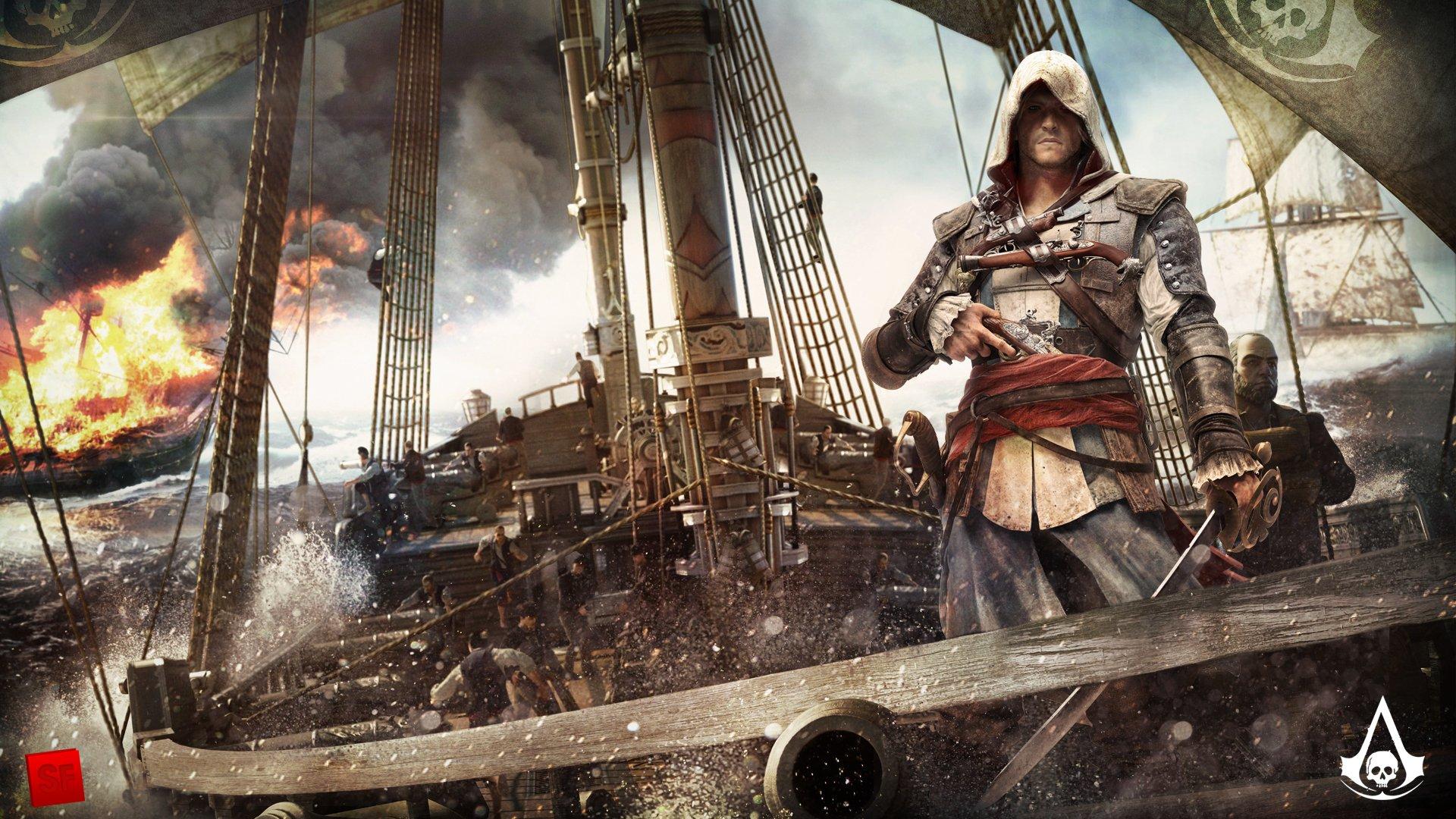 Ubisoft ответила на вопрос, который волновал многих геймеров. А именно: как же будет выглядеть Assassin's Creed 4: B ... - Изображение 1
