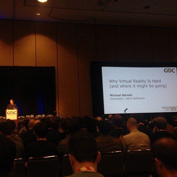 Как оказалось, никаких новых игр Valve показывать не будут.   Valve провели разговор на GDC 2013 28 марта о двух тем ... - Изображение 1