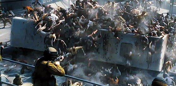 World War Z - образцово-показательный зомби-боевик, в котором все, по сути, на своих местах. Несмотря на клишированн ... - Изображение 1