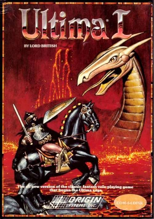 И немного #ретро. Lords of the Rising Sun, Amiga. Ultima I for the Commodore 64. Arcade flyer for Data East's Secret ... - Изображение 2