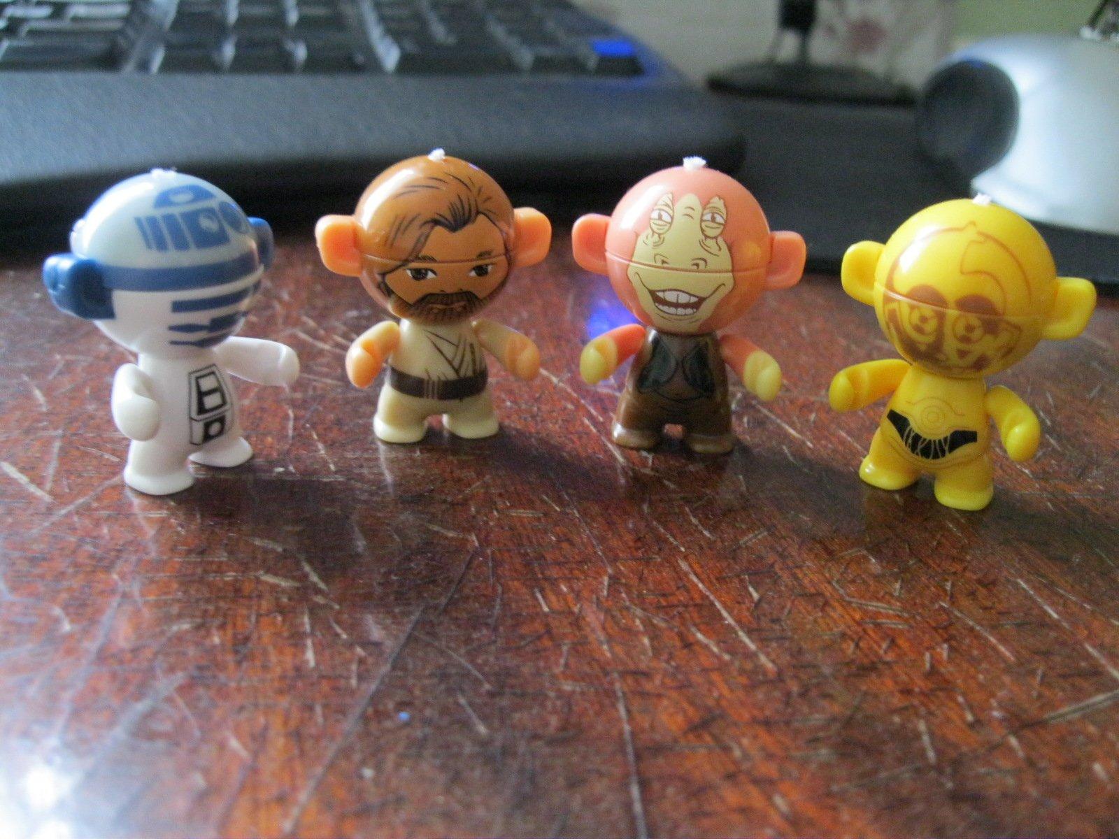 Моя СтарВарсовская команда.Кто нибудь собирал таких головастиков из Киндеров? #starwars - Изображение 1