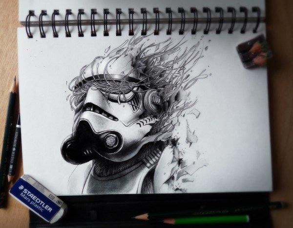 Скетчбук PEZ Artwork Остальные работы в коментариях - Изображение 1