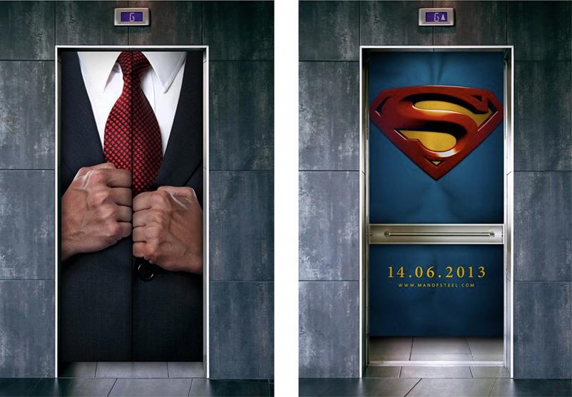 Реклама  Man of Steel. - Изображение 1