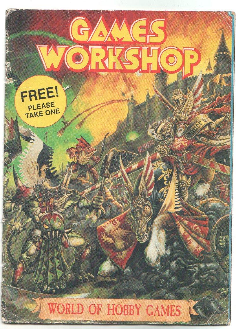 По просьбе Pilot K12-12S выкладываю несколько сканов старого каталога  Games Workshop. Тут в основном фэнтези бэтлз  ... - Изображение 2