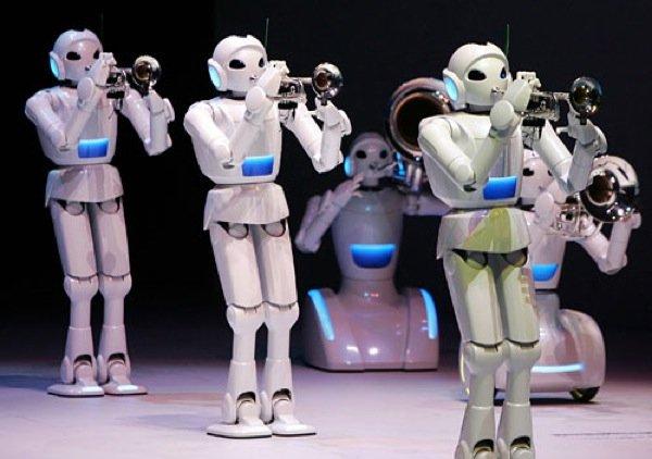 Металлические пальцы крепко сжимают клавиши, из десяток труб роботизированного оркестра раздаётся пронзительный, гро ... - Изображение 1