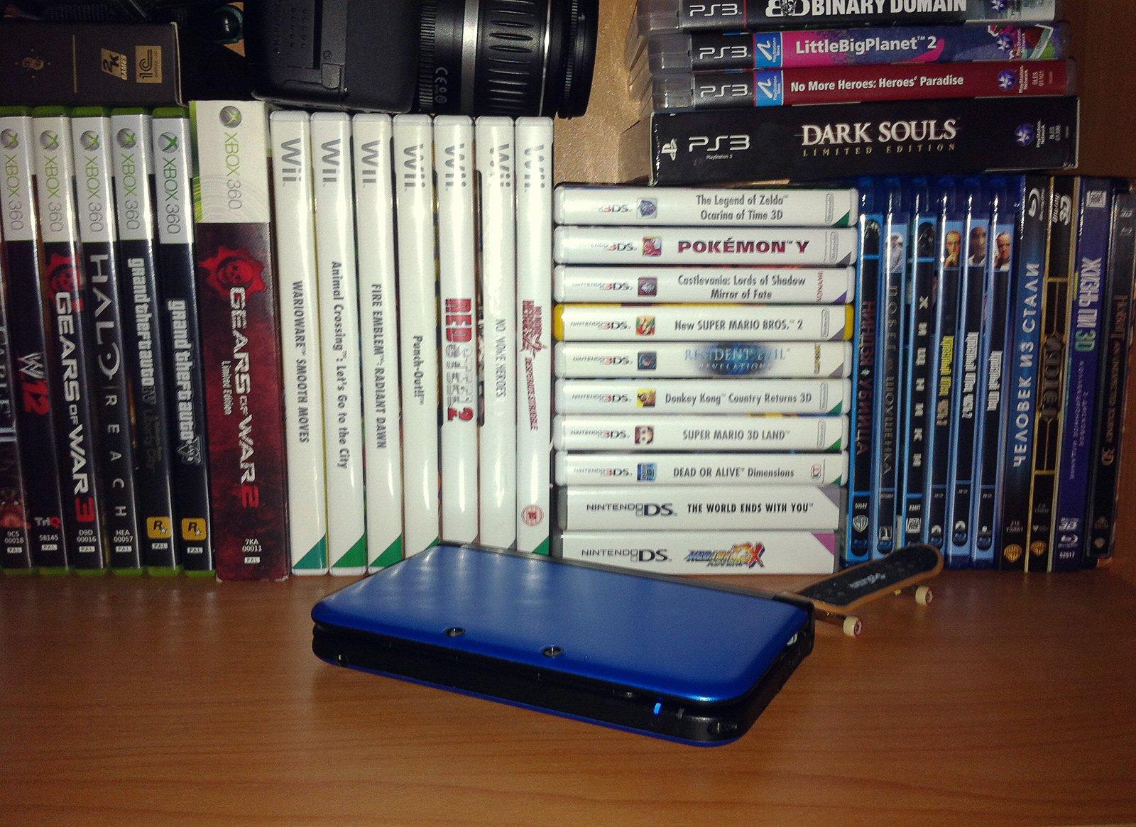3DS сет. Приставка у меня, к сожалению, не swag edition, но тоже сойдет. - Изображение 1