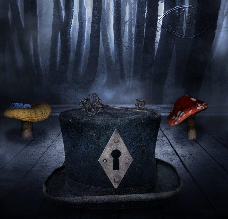 """""""Шляпная история""""сказка  Жили были две шапки. Обычные такие шапки. Одна с полями, а другая - котелок. И были у них х ... - Изображение 1"""