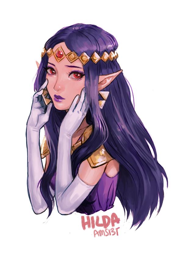 Princess Hilda art The Legend of Zelda: A Link Between Worlds - Изображение 1