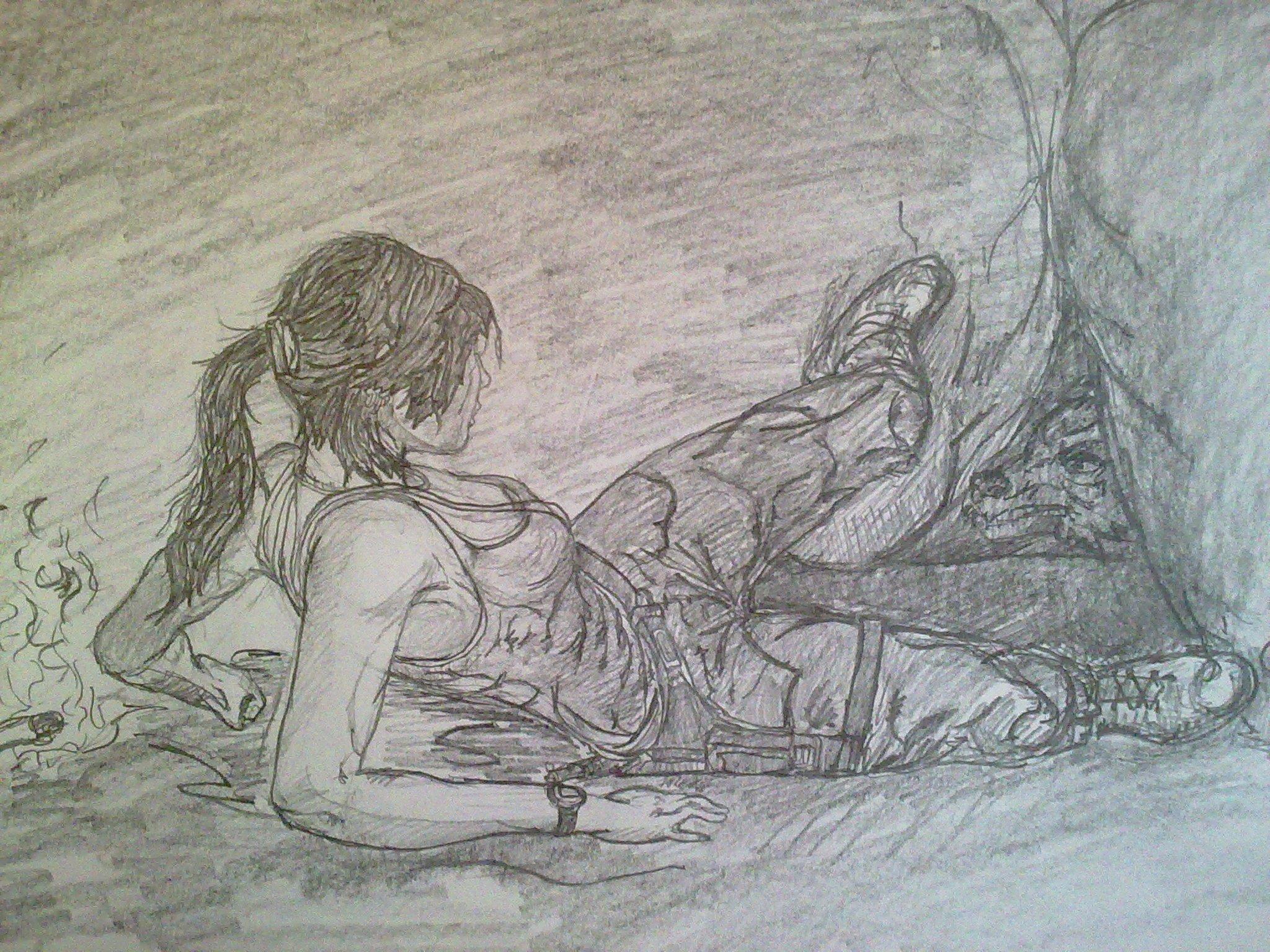 Tomb Raider. Так как в прошлые  части этой серии я не играл, эта игра произвела на меня достаточно хорошие впечатлен ... - Изображение 1