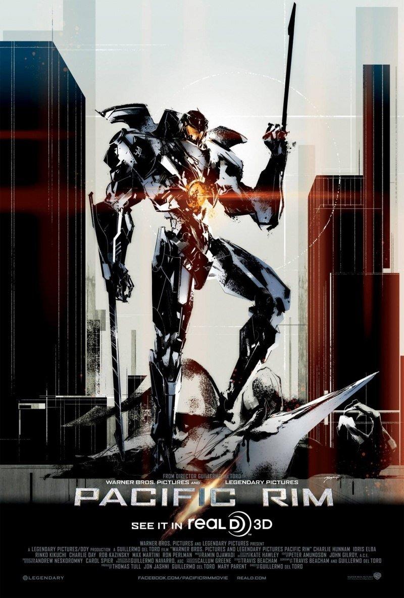 Сегодня ходил в кино на Тихоокеанский рубеж. Не очень люблю тематику больших роботов, годзилоподобных монстров. Поше ... - Изображение 1