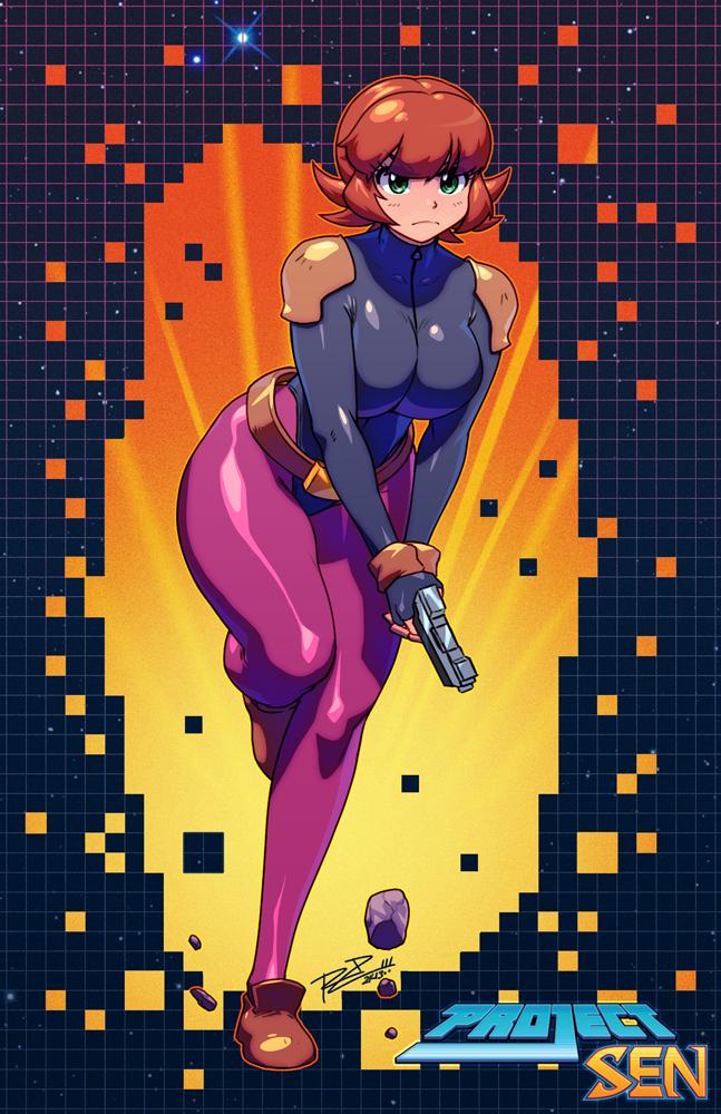 Фан арт к кикстартер проекту Project Sen, одна из художниц которой работала над Skullgirls. - Изображение 1