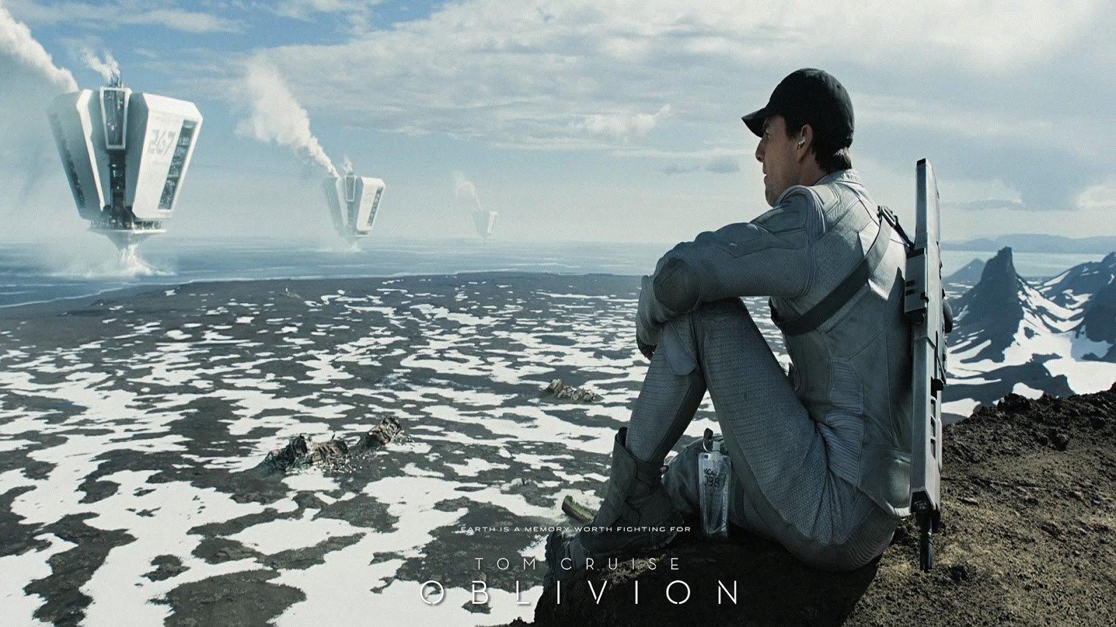 Пост-обсуждение фильма #обливион   В целом фильм понравился. У него какая-то спокойная атмосфера постапокалипсиса,  ... - Изображение 1