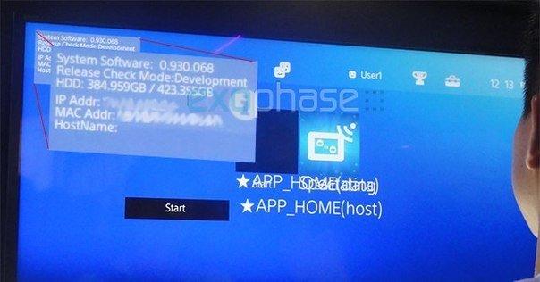 Хакеру удалось вызвать креш на PS4 и угадайте, что он увидел.... не Linux, не Windows 7, а настоящую ос консоли.  - Изображение 1