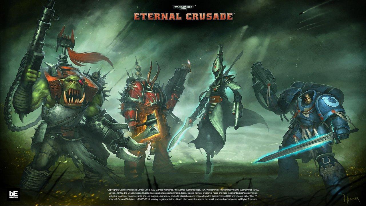 Официальный арт Warhammer 40,000: Eternal Crusade #wh40k   - Каждая фракция делится на Ордена, Легионы, Кланы и Кра ... - Изображение 2