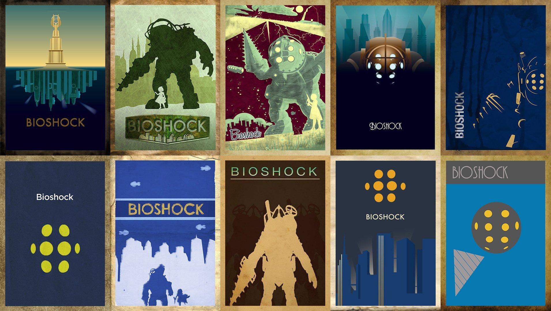 Обои минимализм BioShock - Изображение 1
