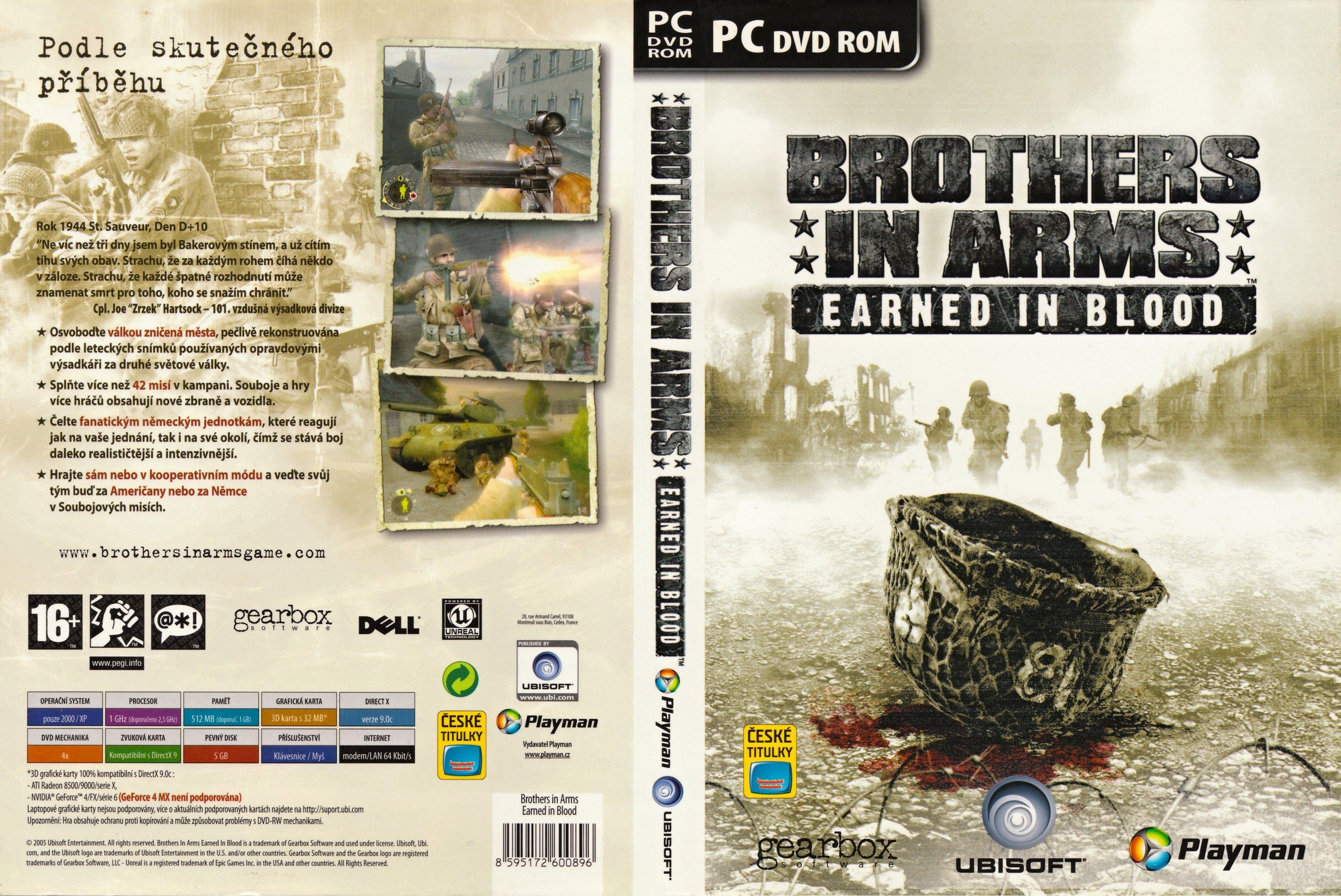 Brothers in Arms: Earned in Blood  Краткая рецензия,со времен первой изменилась игра не сверхъглобально,так что пере ... - Изображение 1