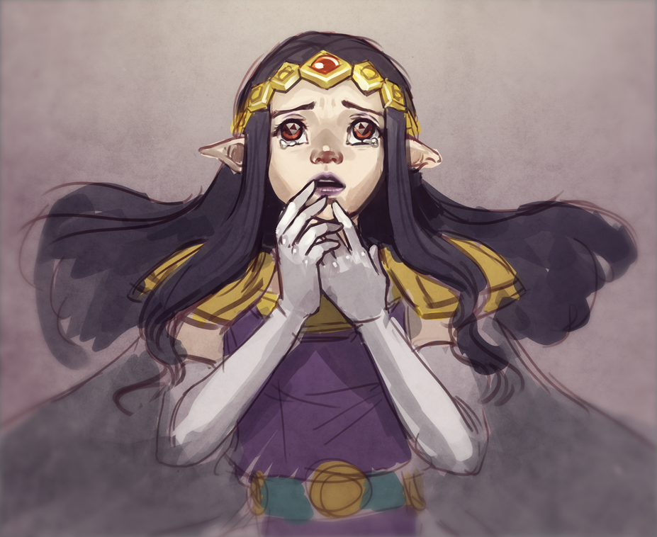 Princess Hilda art The Legend of Zelda: A Link Between Worlds - Изображение 2