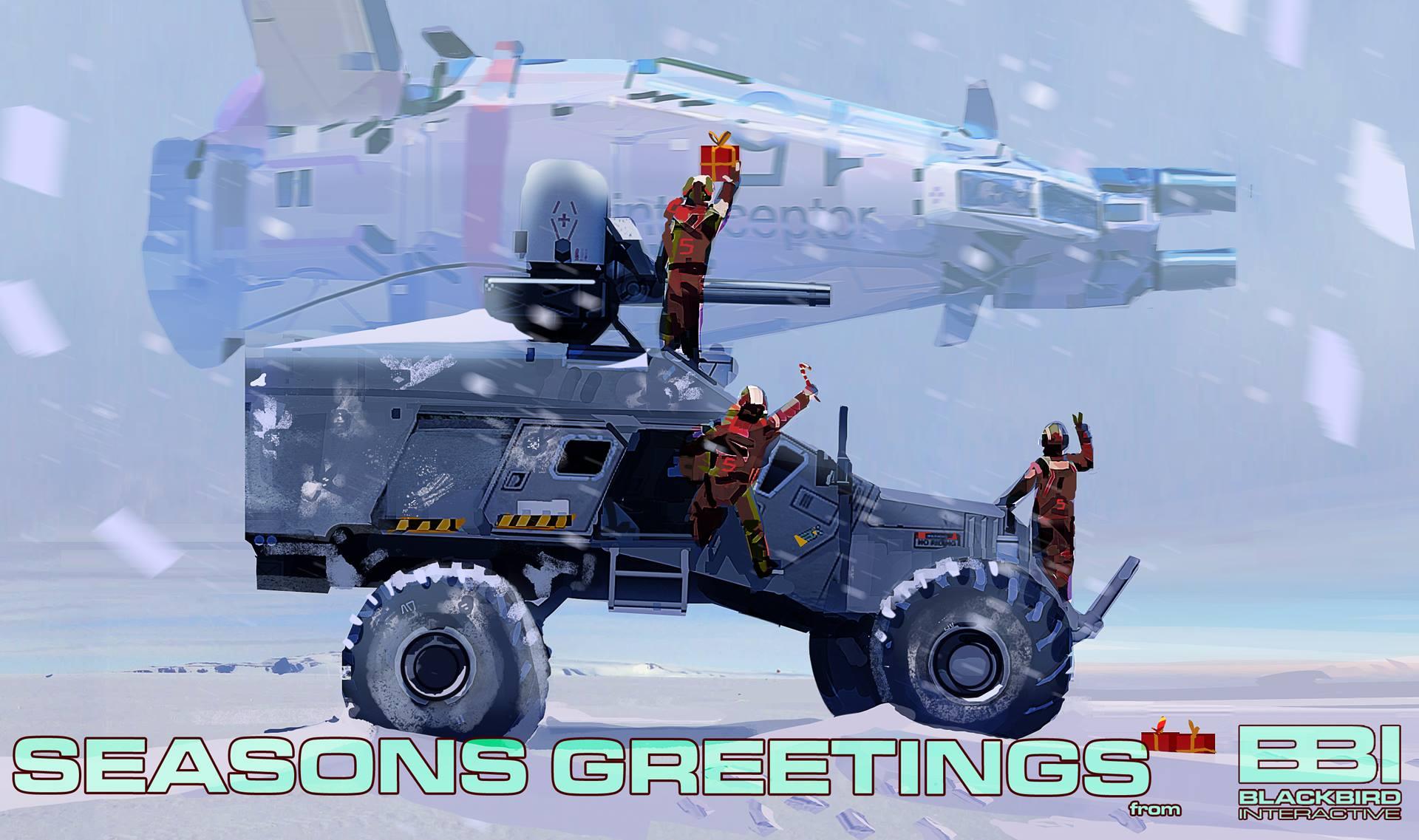 Разрабы Homeworld: Shipbreakers поздравляют с праздником - Изображение 1