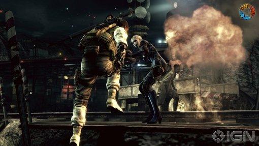 Resident Evil 5: Desperate Escape. Зомби из крепости