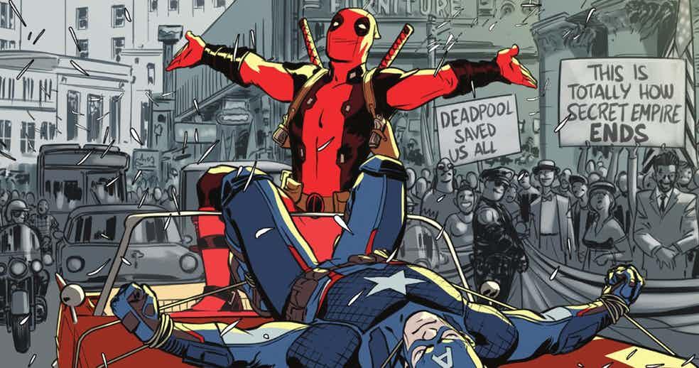 Комикс про Дэдпула подтверждает— теперь уMarvel два Капитана Америка