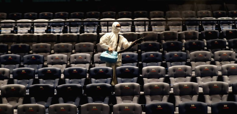 Насколько вРоссии упала посещаемость кинотеатров из-за карантина