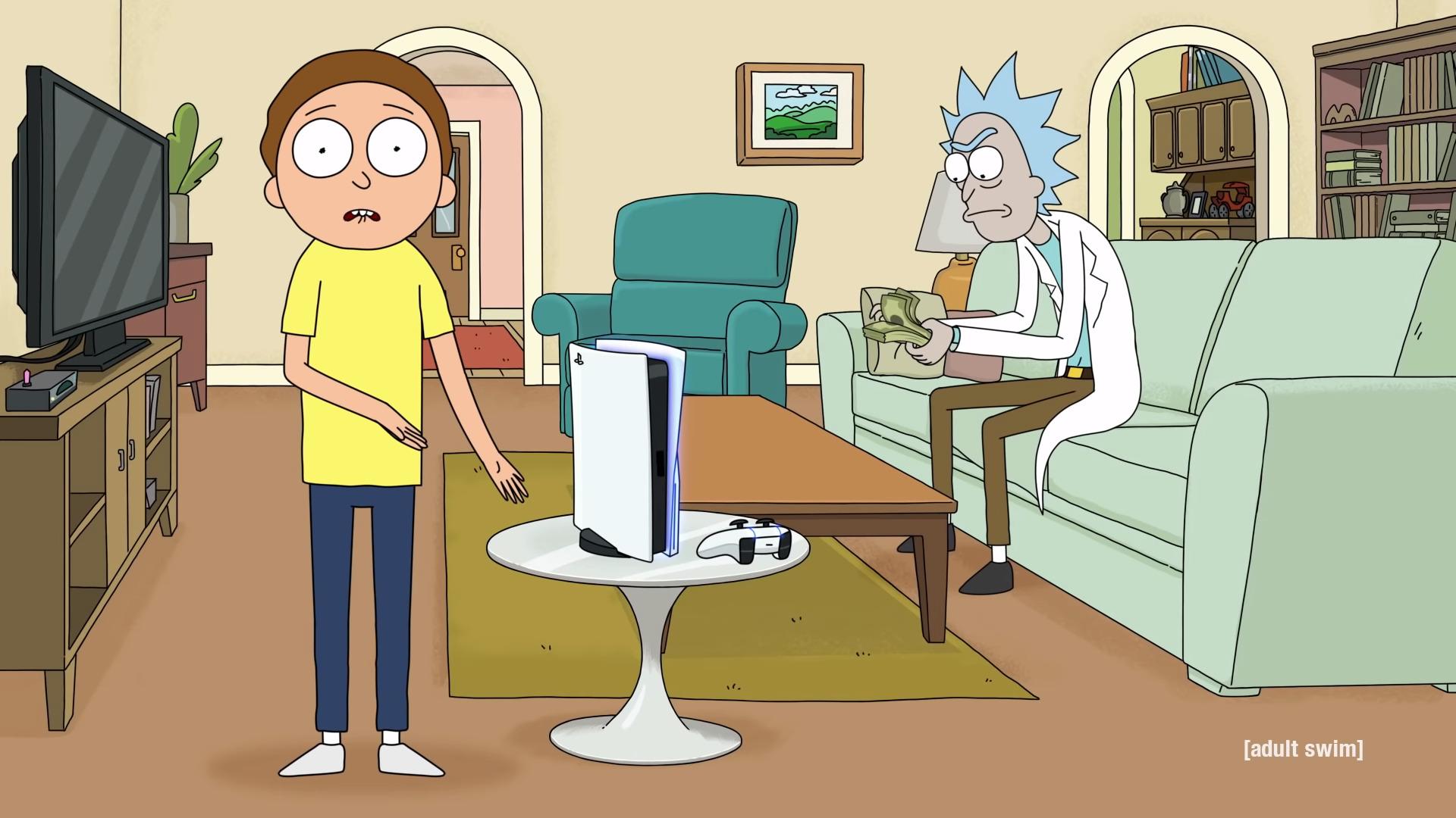 Рик и Морти рекламируют PlayStation 5 в новом ролике