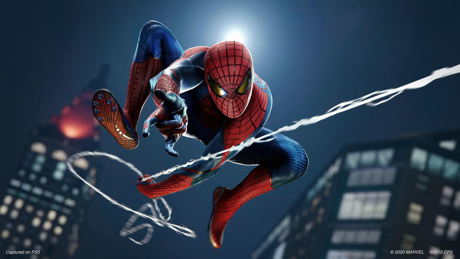 Новое лицо Питера Паркера икостюм Эндрю Гарфилда: подробности ремастера Marvel's Spider-Man
