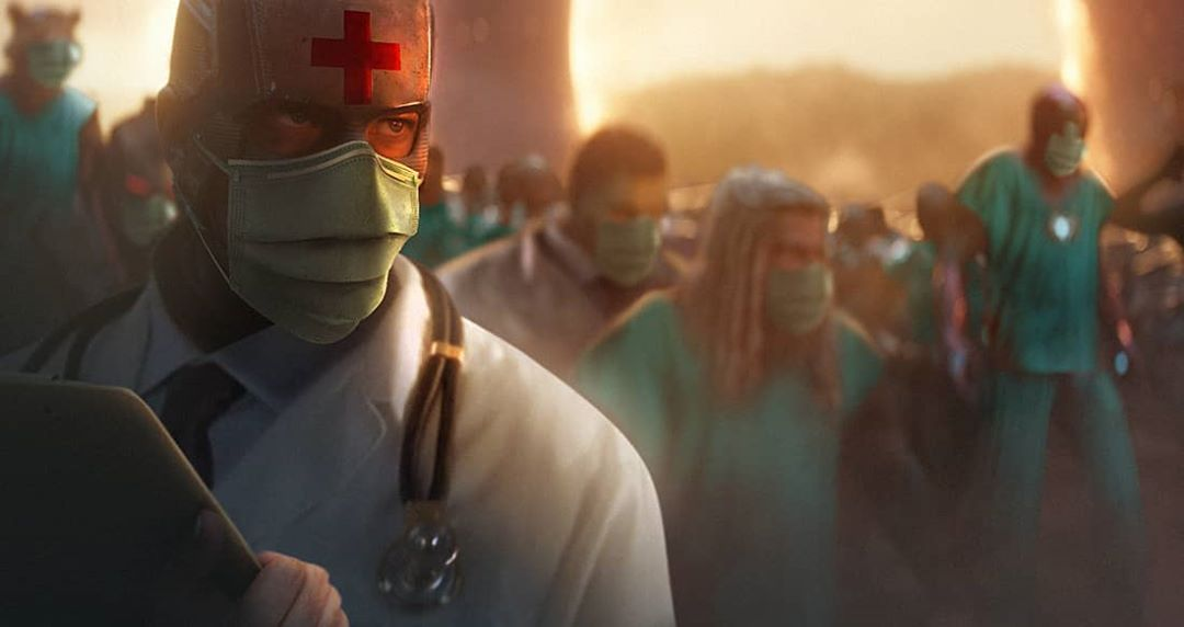 Мстители против коронавируса— это новый арт Bosslogic. Марк Руффало уже оценил