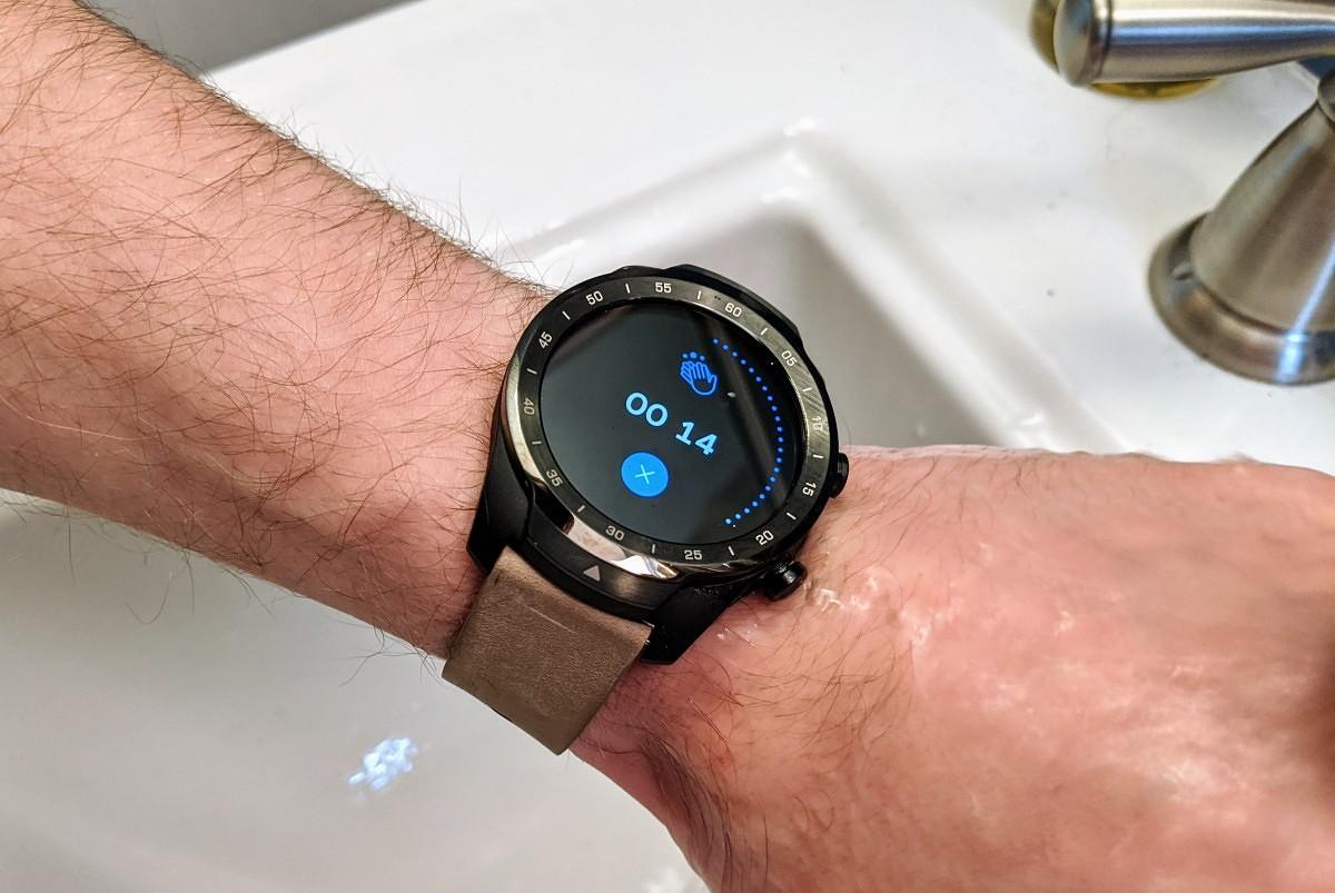 Google научила смарт-часы наWear OSнапоминать мыть руки изасекать время насам процесс