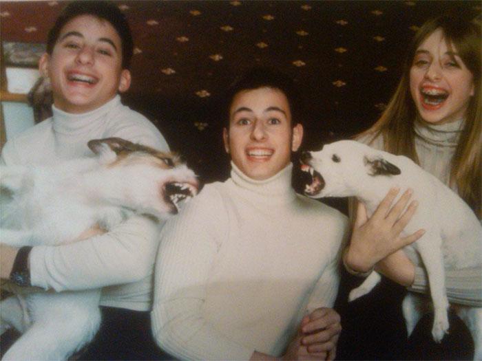 Галерея дурацких рождественских фотографий, которые испортили собаки