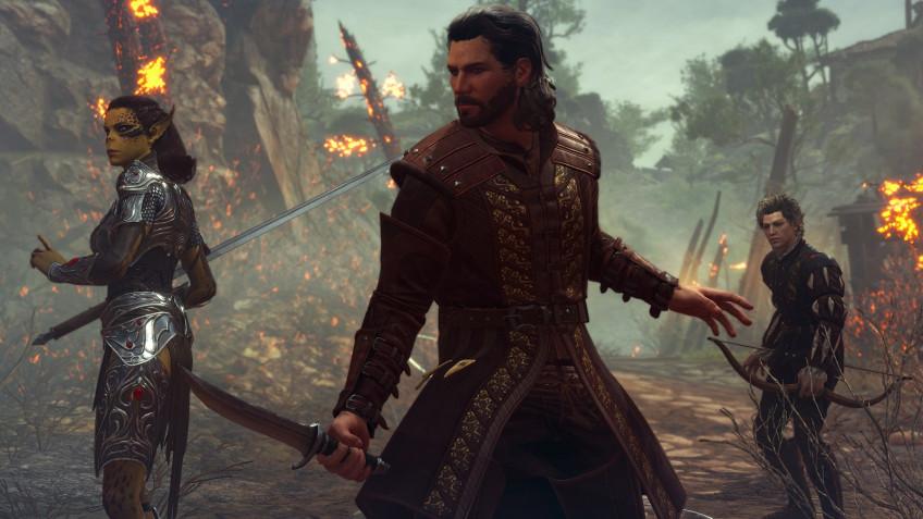 Baldur's Gate III стала лидером внедельном чарте Steam. Обогнала даже Among Us