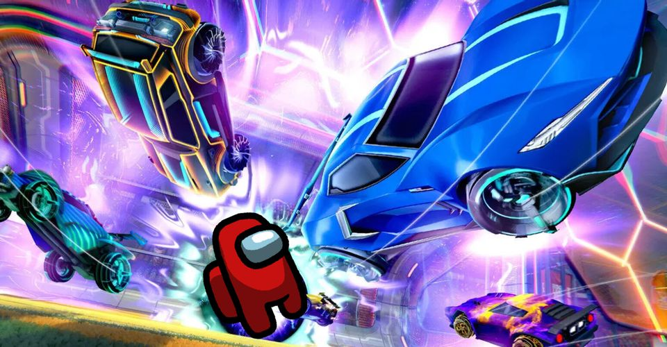 Among Us воссоздали в игре Rocket League