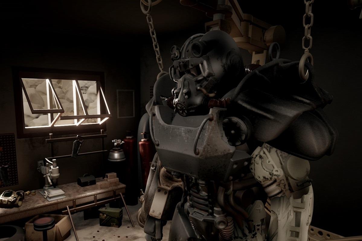 Вконструкторе миров Dreams сделали Fallout4. Даже Pip-Boy работает