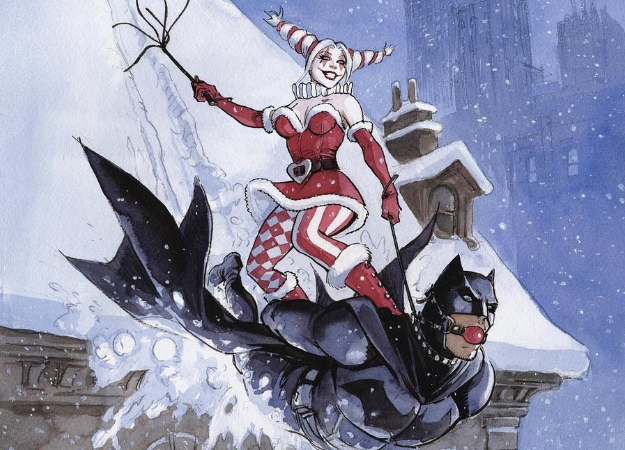 Лучшие арты декабря: Новый год, Аквамен, Человек-паук, Росомаха, Доктор Дум имногие другие