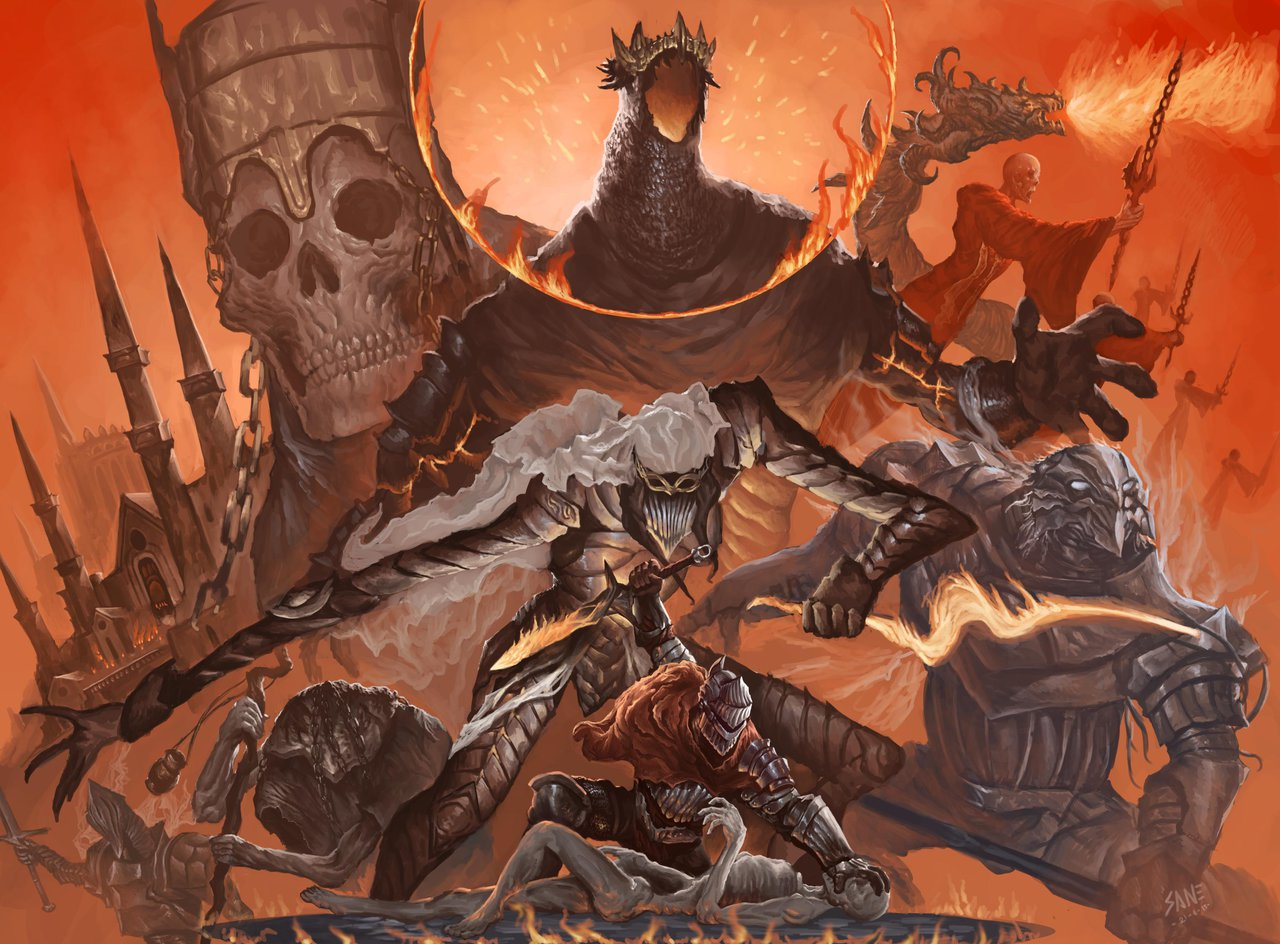 Играю впервый раз:Dark Souls3. Можетли игра From Software удивить спустя 4 года после выхода?