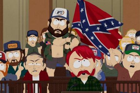 1 серия 21 сезона South Park издевается над американскими расистами