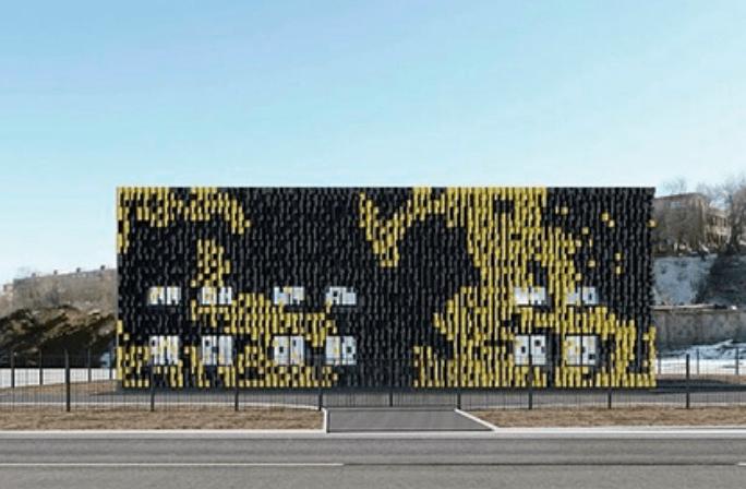 ВМоскве появится здание встиле Minecraft