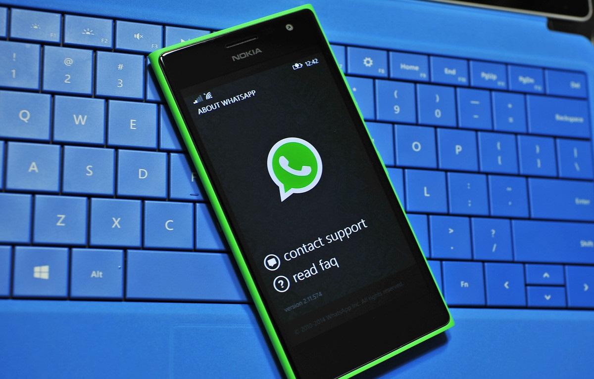WhatsApp прекращает поддержку смартфонов наWindows Phone истарых версий Android иiOS