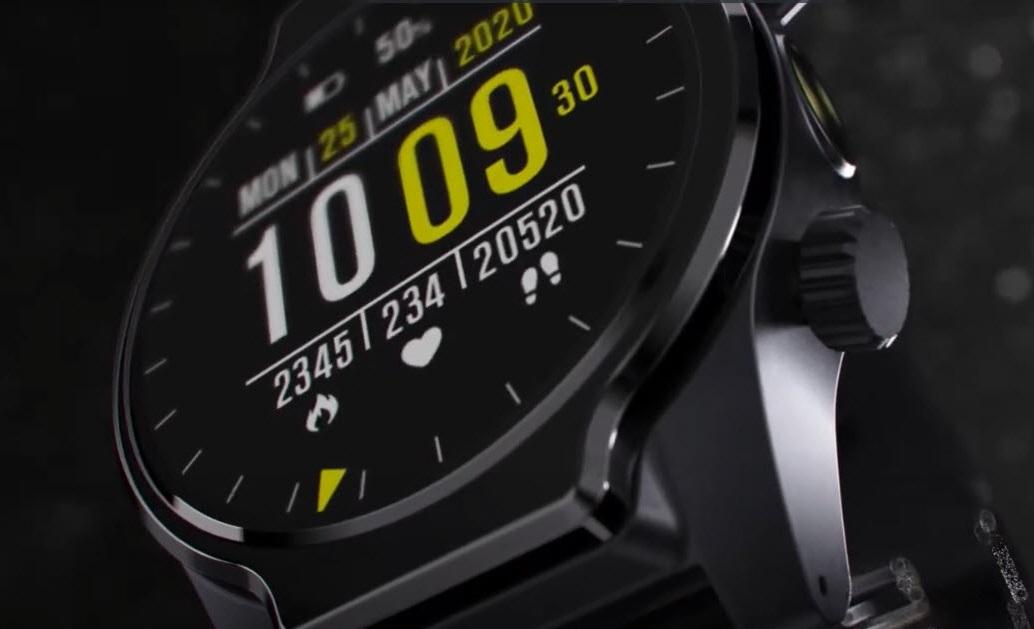 Смарт-часы Rollme S08 получили две камеры, функцию распознавания лица изащиту отводы