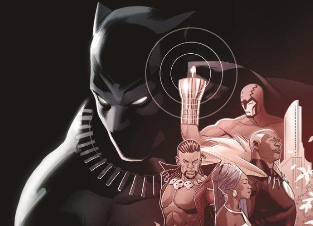 Новый комикс расскажет опервом годе Т'Чаллы вкачестве короля Ваканды