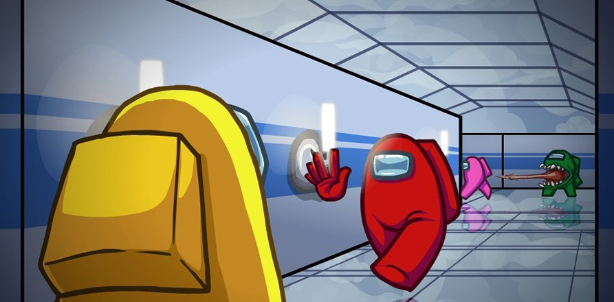 Звездные войны, Покемон иКрик: Bosslogic нарисовал скины для игры Among Us