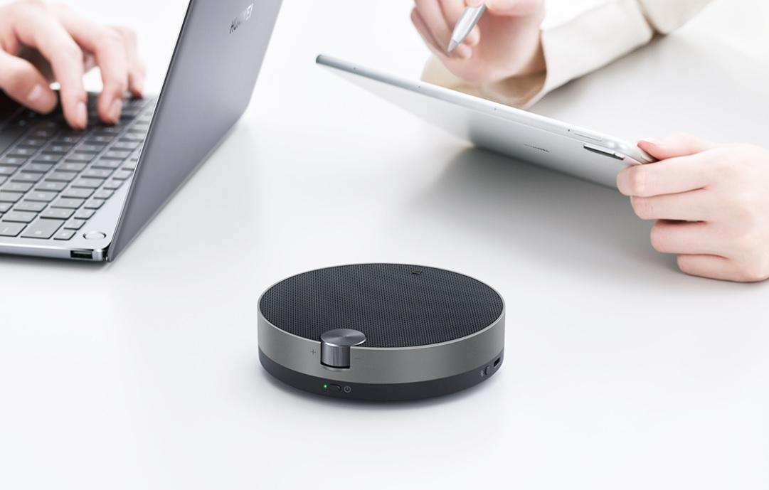 Дизайн новой Bluetooth-колонки Huawei FreeGo вдохновлен виниловым проигрывателем