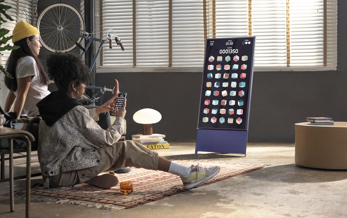 ВРоссии вышел Samsung The Sero— 4К-телевизор для просмотра мобильного контента за109990 рублей
