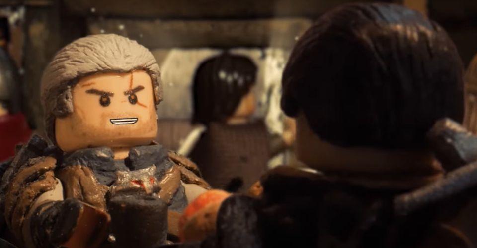 Приключения Геральта иЛамберта: энтузиаст делает короткометражки по«Ведьмаку» спомощью LEGO