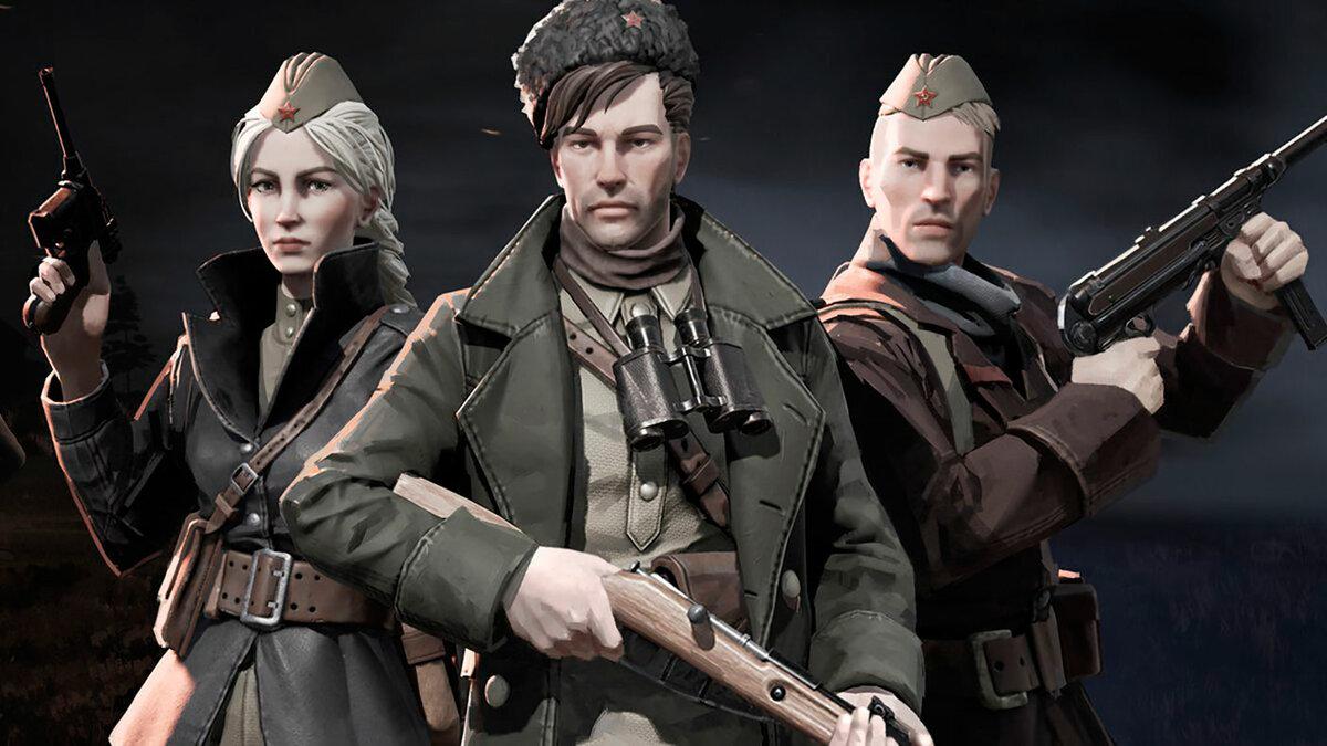 Раздача ключей набета-тест Partisans 1941— российский тактики вдухе Commandos иDesperados