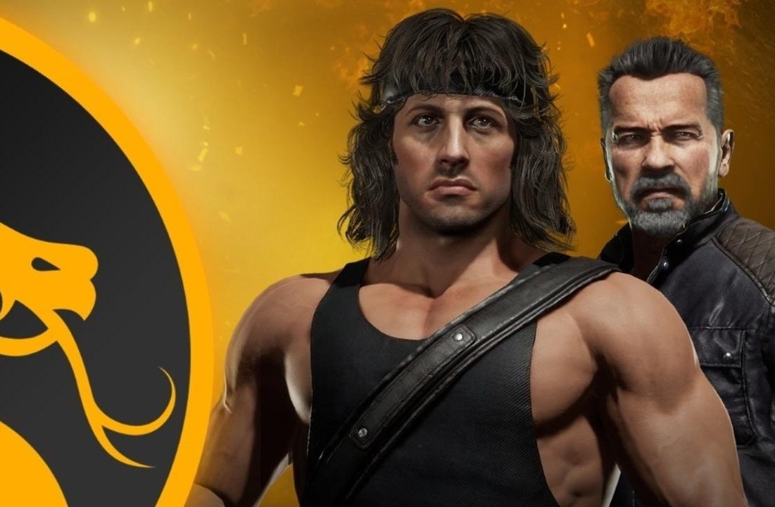 Битву Рэмбо иТерминатора показали втрейлерах Mortal Kombat11