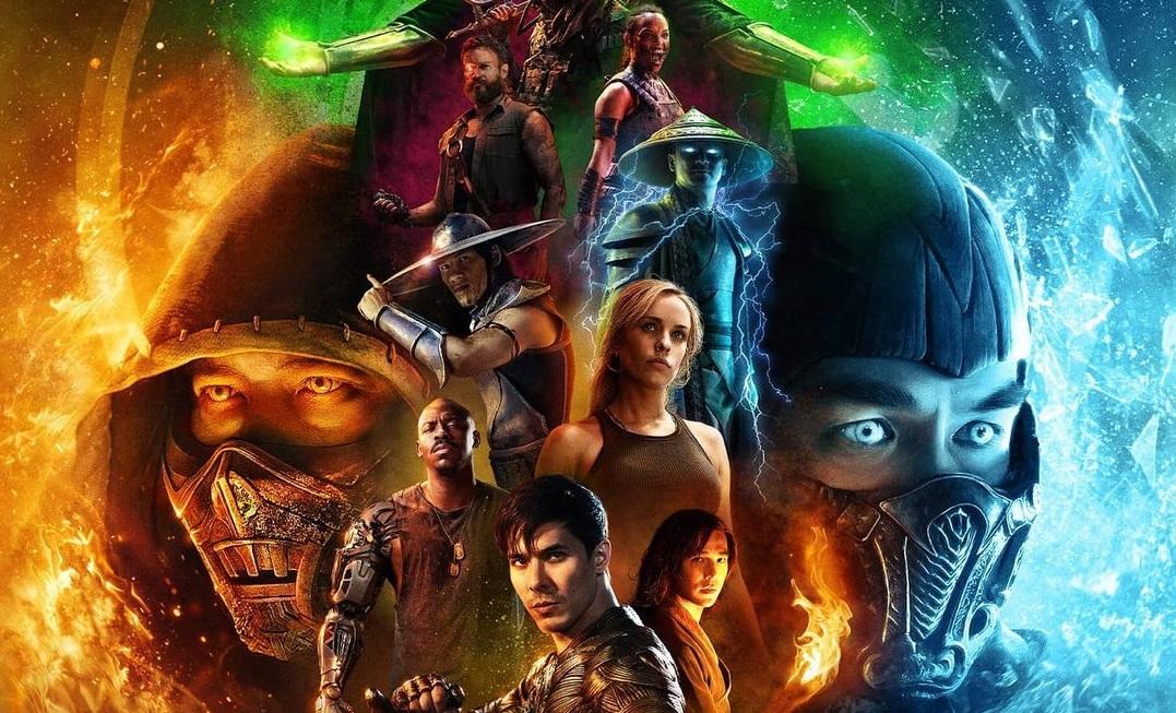 Художник Bosslogic показал официальный IMAX-постер фильма «Мортал Комбат»