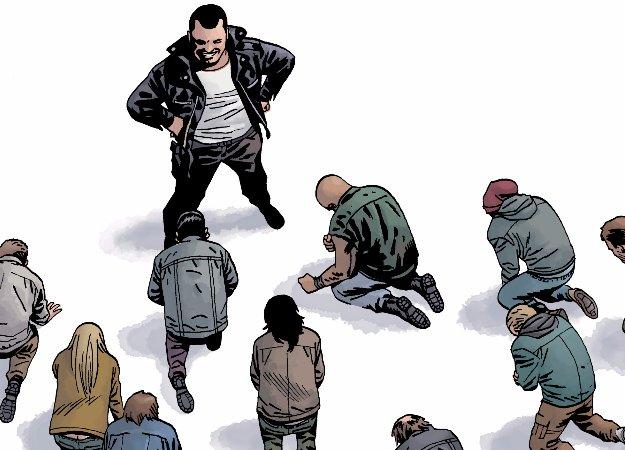 В «Ходячих мертвецах» все вверх дном: Ниган защищает Рика... от людей